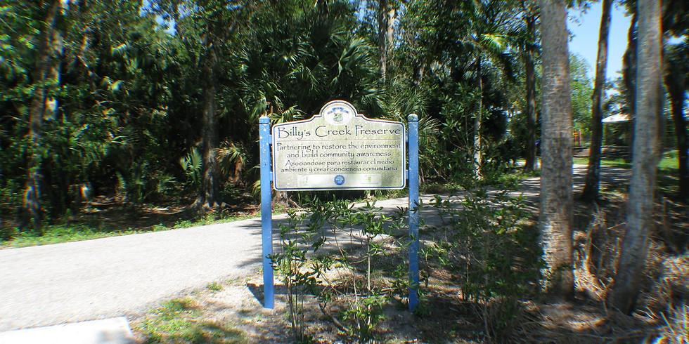 Billy Creek Preserve & Filter Marsh