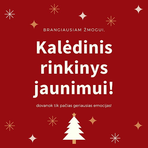 """""""Jaunasis lenktynininkas"""" - Kalėdinis dovanų rinkinys"""
