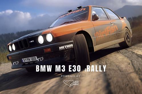 STARTINIS MOKESTIS - BMW M3 e30 Rally - Virtualus ralio čempionatas