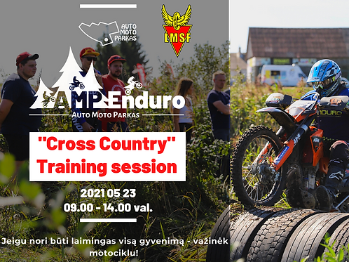 """Training session """"Cross Country"""""""