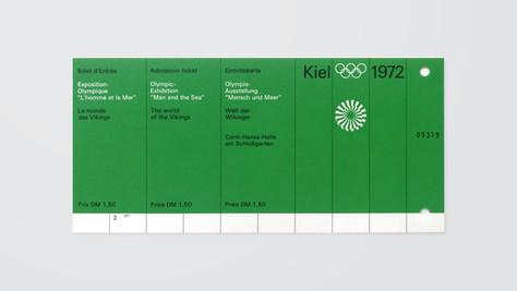 Kiel Exhibition Ticket