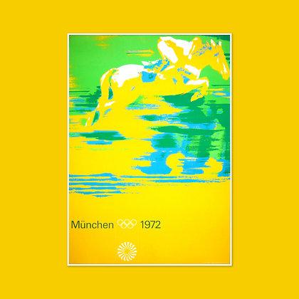 A1 Equestrian Poster