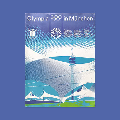 Olympia In München Magazine - 1971