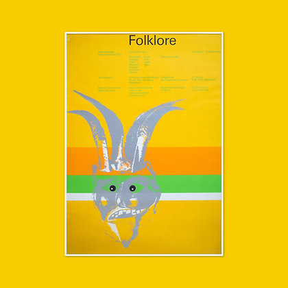 A0 Folklore Poster