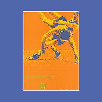 A0 Wrestling Poster