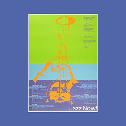 A0 Jazz Now! Concert Listings Poster