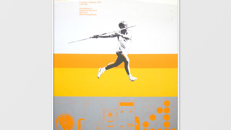Olympics and Technology Exhibition Poster