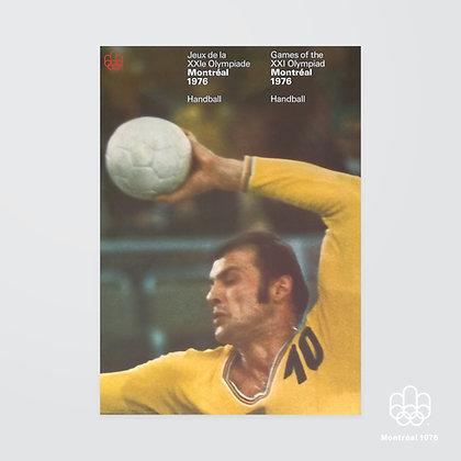 A2 Montréal 1976 Handball Poster