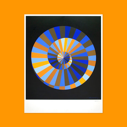 Vasarely Emblem Poster (Limited 2nd Edition)