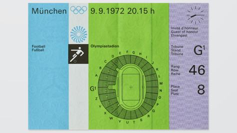Unused Football (Soccer) Ticket - Final