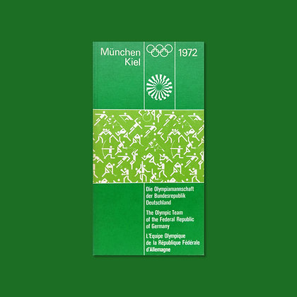 The Olympic Team of the Federal Republic of Germany Handbook