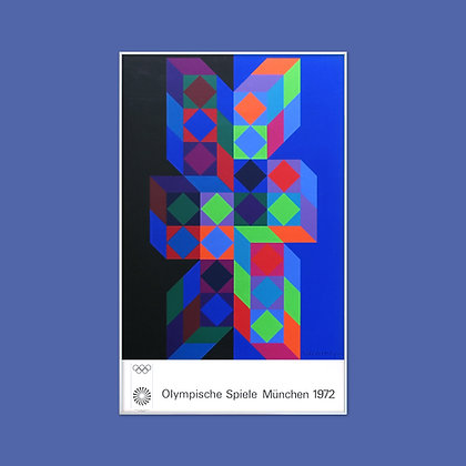 Victor Vasarely Poster (Limited 2nd Edition)