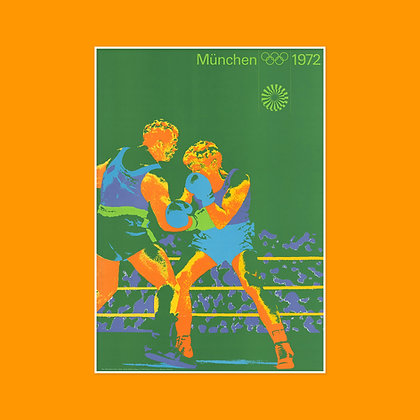 A1 Boxing Poster