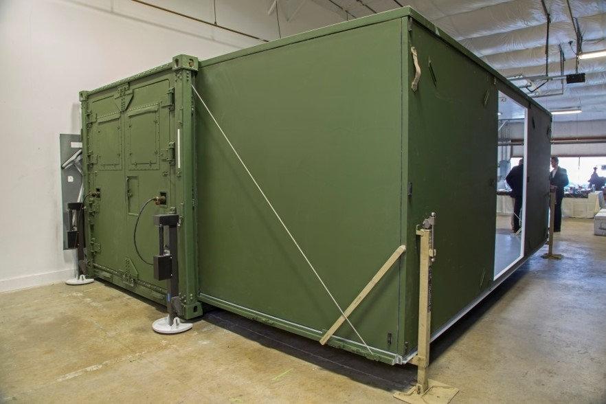 20ft 3-to-1 Expandable US Military Shelt