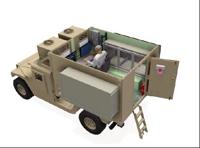 JLTV-JETS Mobile Command Center Renderin
