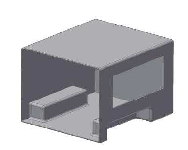 JLTV-JETS Composite Molded Main Body Sec