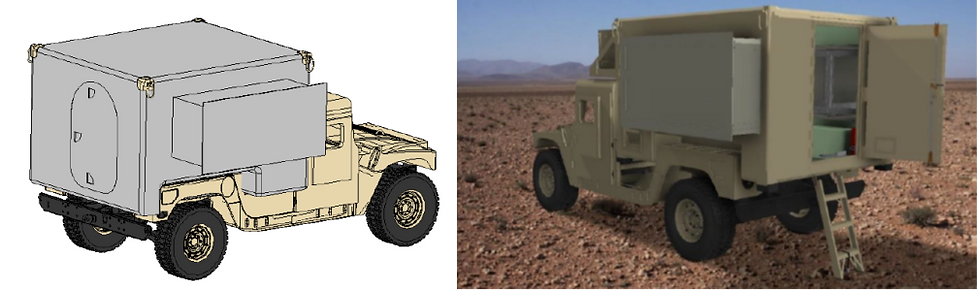JLTV-JETS Truck-Mounted US Military EMI