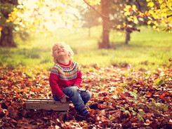 autumn leaves picture, family photographer peaceheaven
