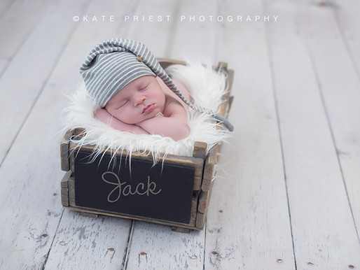 Brighton Newborn Photographer - Baby Jack