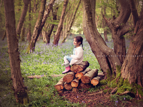 Bluebell family photoshoot Woodingdean,