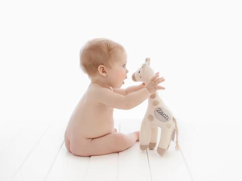 6 month baby photoshoot
