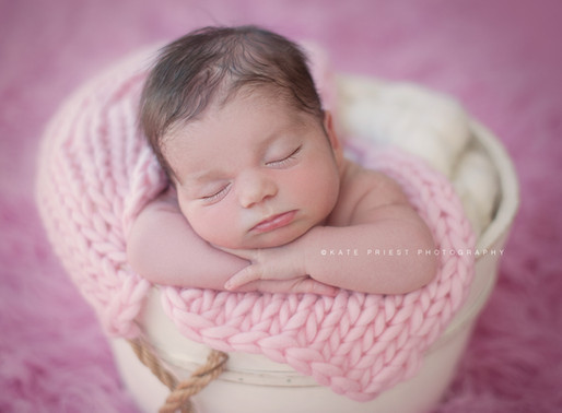 Why do Newborn Photography session take place when your baby is under two weeks old?