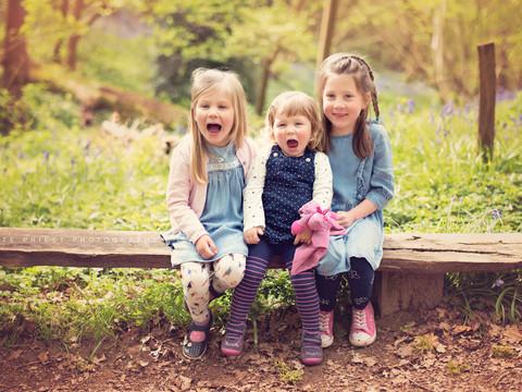 family bluebell photoshoot Eastbourne