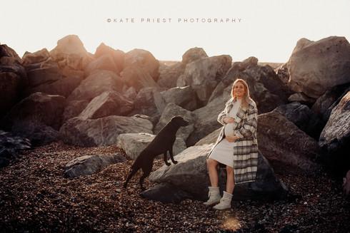 Maternity Beach Photography Photoshoot
