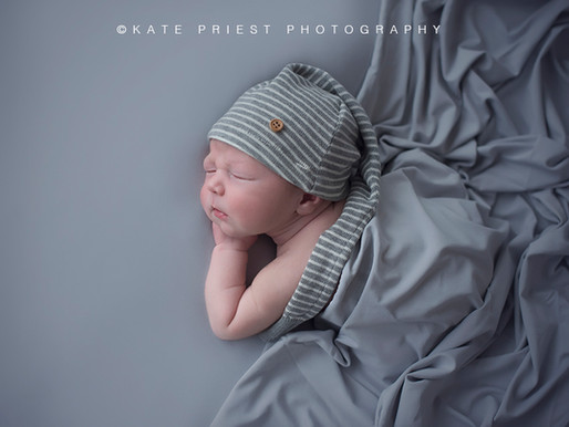 Brighton Newborn Photographer - Baby Oliver