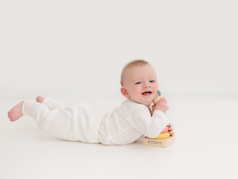 Baby sitting photography photosession