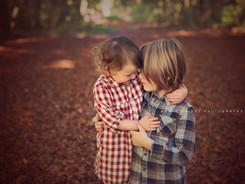 Autumnal siblings photoshoot Hailsham, Hove, Brighton
