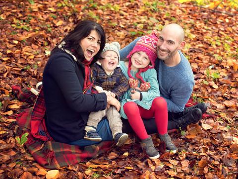 Autumn family photography photoshoot, professional family photographer shoreham