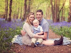 crowborough bluebell photoshoot, Crowborough family photographer