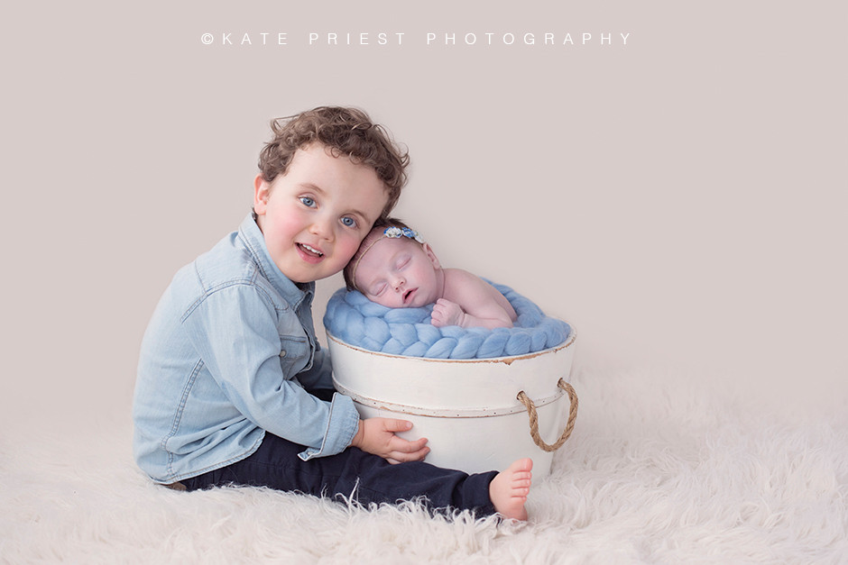 Newborn photography Hove, professional baby photographer, sibling photo ideas, baby photographer Hove, newborn and sibling photoshoot