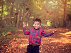 Family photography Hove, Autumn family photoshoot