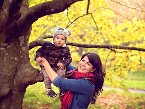 Mother and Son portrait session