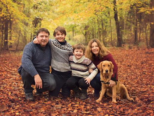 Peacehaven Family Photographer - Bamin Autumn Family Photoshoot