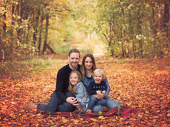 Autumnal family photography photoshoot Seaford