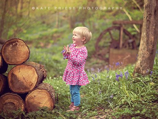 Brighton Family Bluebell Photographer