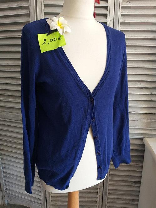 Gilet Bleu roi T40