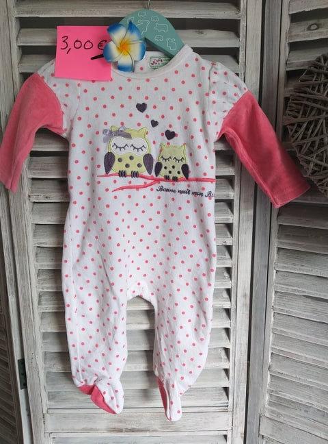 Pyjama 6 mois Manon et Valentin
