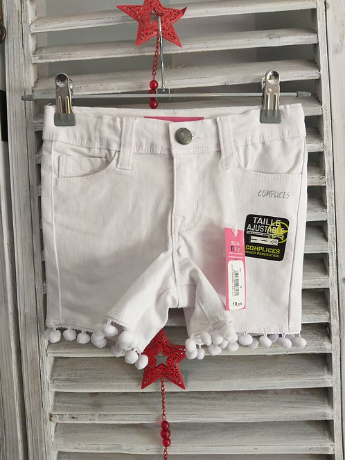 Short Complice Neuf 4 ans