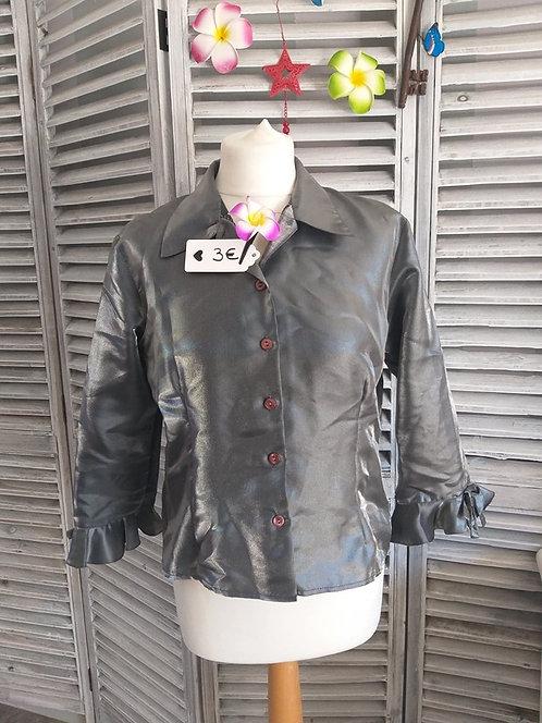 Chemise argenté T40