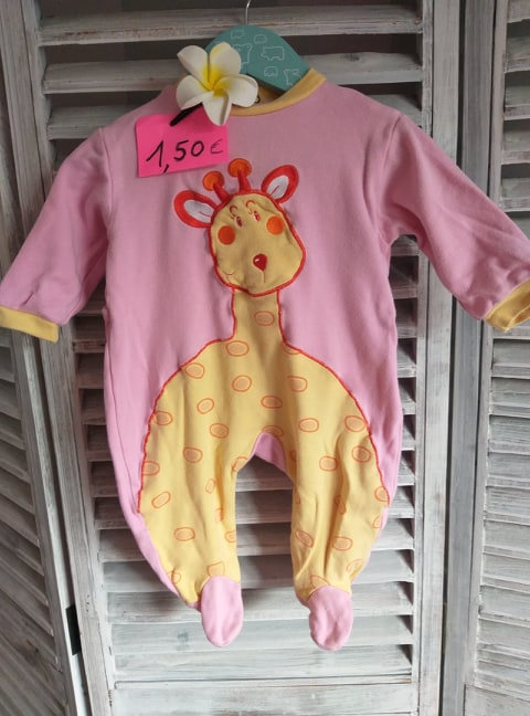 Pyjama 3 mois fille