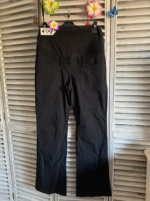 Pantalon noir de grossesse T38