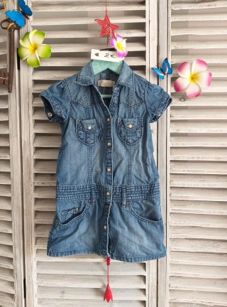 Robe en jeans 2/3 ans