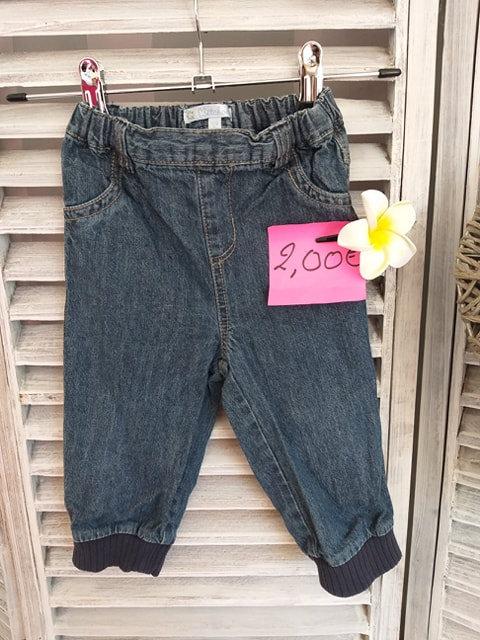 Pantalon toile de jeans 12 mois Kitchoun