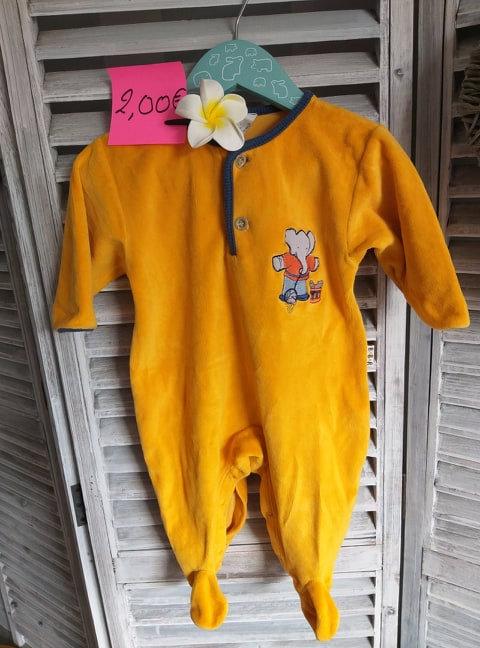 Pyjama 6 mois babar