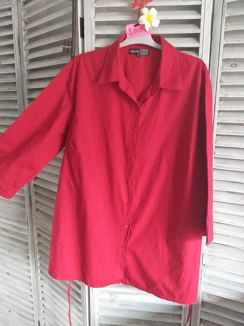Chemise Rouge T56