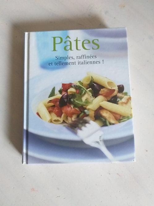 Livre de recettes théme Pâtes